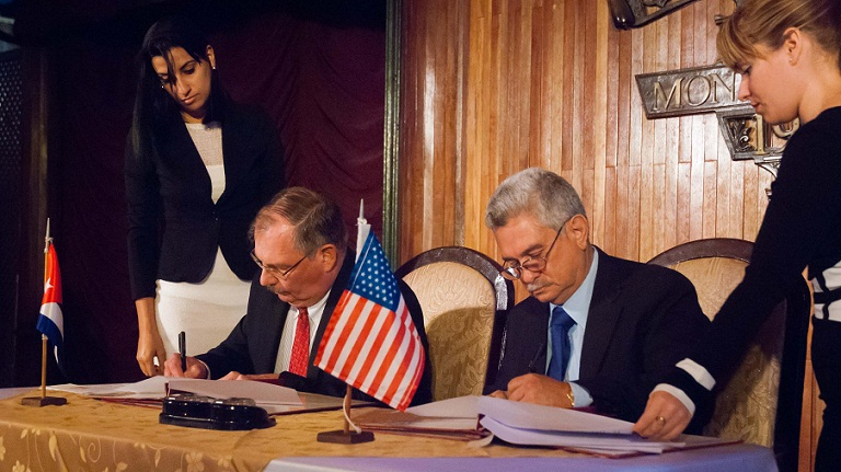 Cuban and Mississippi ports sign MoUs