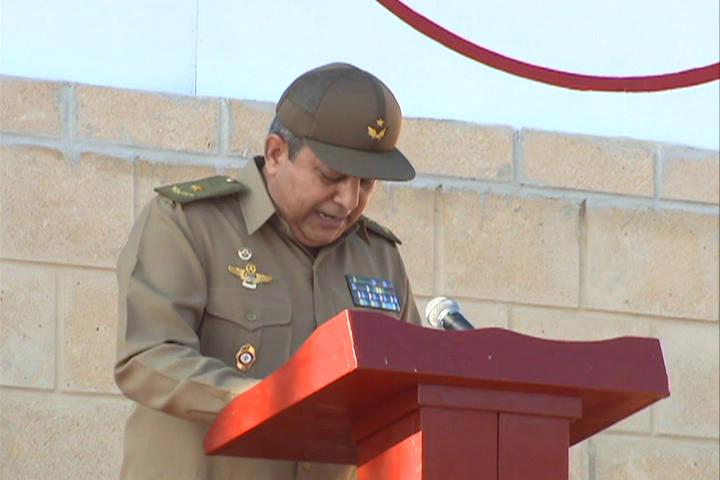Aniversario 55 de la punta de vanguardia del Gran Ejército del Pueblo