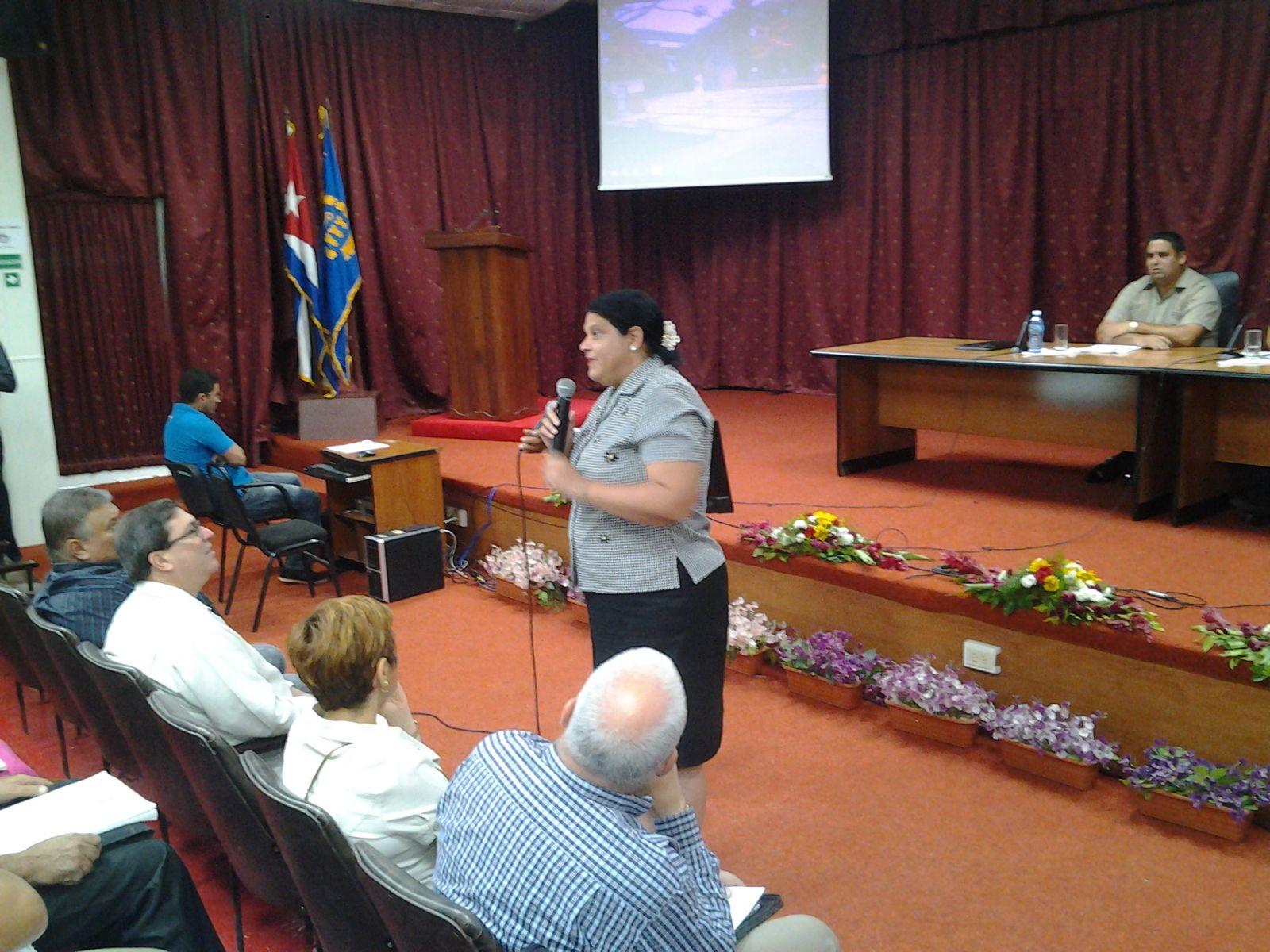 Mercedes López Acea, Primera Secretaria del PCC.