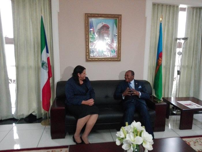Concluye vicepresidenta cubana programa oficial en Guinea Ecuatorial