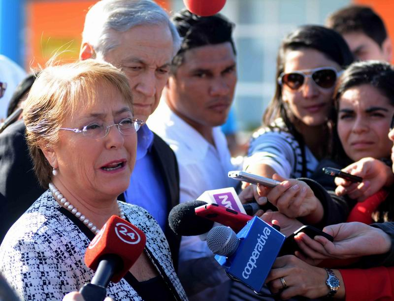Chilean President in Cuba on Official Visit