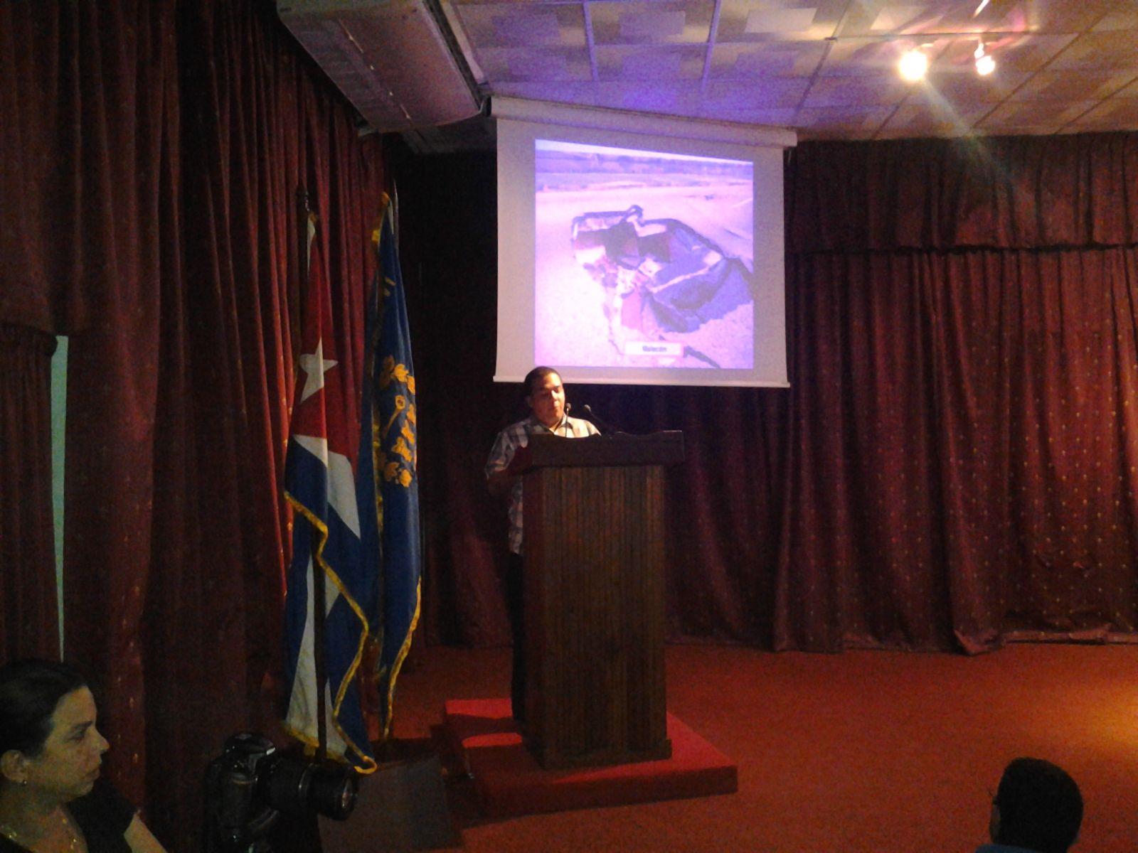 Michel Milian, Vicepresidente del CAP, rinde cuentas sobre las afectaciones por el Huracán Irma en La Habana