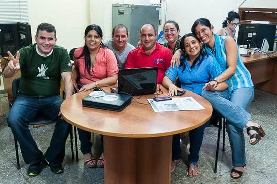 La Juventud más cerca de sus miembros, en el foro on line desde el priódico juventud Rebelde. Foto: Calixto N. LLanes.