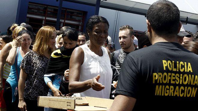 Cuba impulsa solución al problema de migrantes cubanos varados en Costa Rica. Foto: BBCMundo