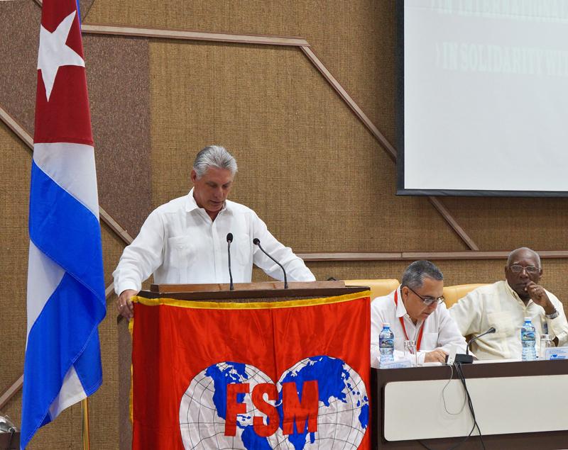 Apuestan por la unidad dirigentes sindicales mundiales ante desafíos hegemónicos (+Audio y Fotos)