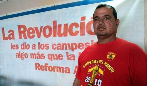 José Miguel González García, presidente del la CCS Primero de Mayo, perteneciente al municipio artemiseño de Güira de Melena. Foto. Cabrera Peinado.
