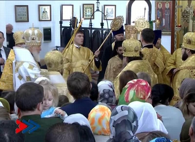 Su Santidad Kirill, Patriarca de Moscú y de toda Rusia, ofició la Divina Liturgia en la Catedral Ortodoxa Rusa de Nuestra Señora de Kazán