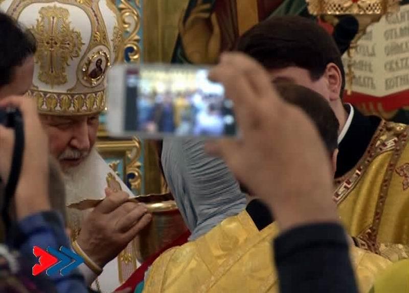 Divina Liturgia en la Catedral Ortodoxa Rusa de Nuestra Señora de Kazán