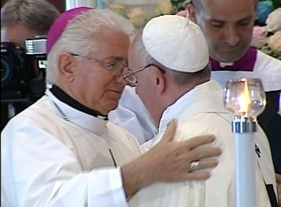 Arzobispo de Santiago de Cuba agradece al Papa Francisco por su peregrinar