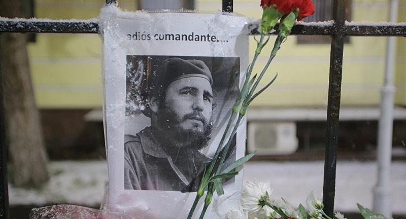 Homenaje a Fidel en Rusia
