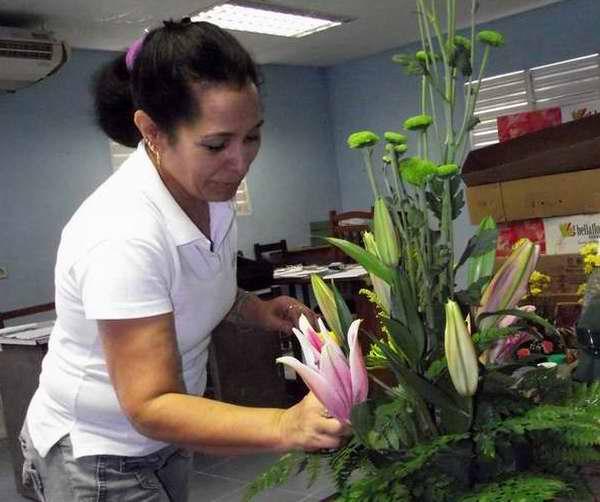 Zaida Núñez Guerra, una de las tantas mujeres cubanas que hacen valer sus derechos e ideales. Foto Abel Rojas