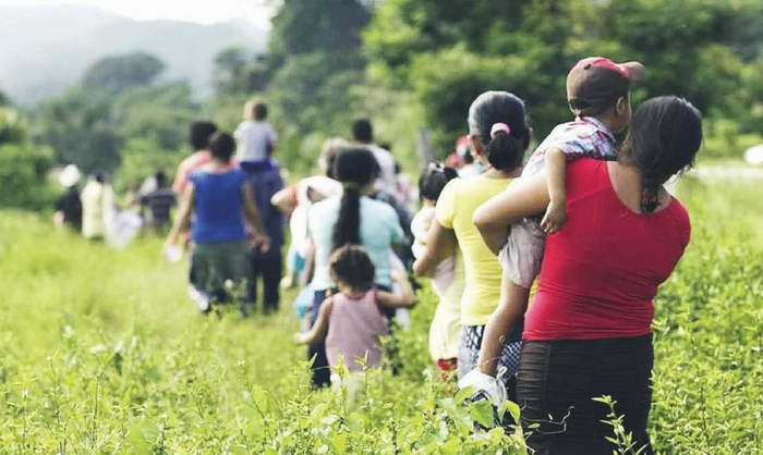 Migración al desarraigo