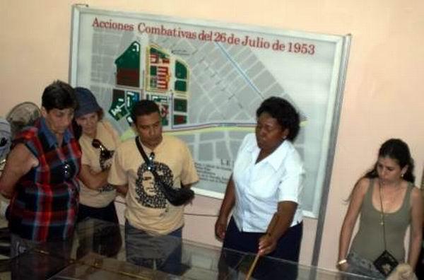El pasado 28 de abril reabrió sus puertas el Museo 26 de Julio que recoge la historia del cuartel Moncada y facetas de la lucha revolucionaria hasta el 1ro. de Enero de 1959. Foto: Carlos Sanabia.