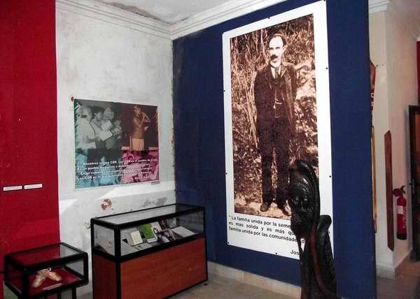 El Apóstol presente en el Museo 28 de Septiembre