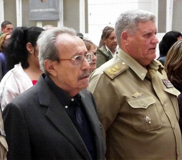 Falleció el Comandante del Ejército Rebelde Faure Chomón Mediavilla