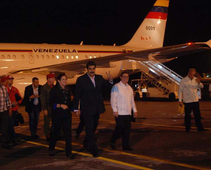 Venezuela Maduro: Peace in Colombia means peace in the region