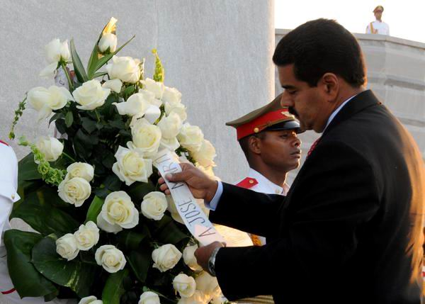 Maduro rindió homenaje a Martí
