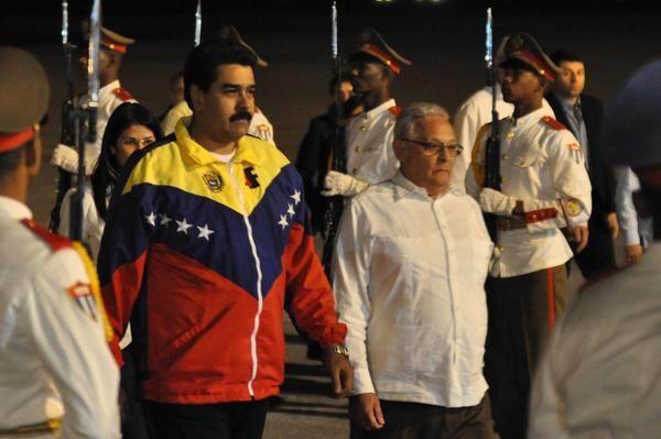 Nicolás Maduro, Presidente de la República Bolivariana de Venezuela, llegó a Cuba para participar en la II Cumbre de la Comunidad de Estados Latinoamericanos y Caribeños (CELAC). Foto: Marcelino Váquez