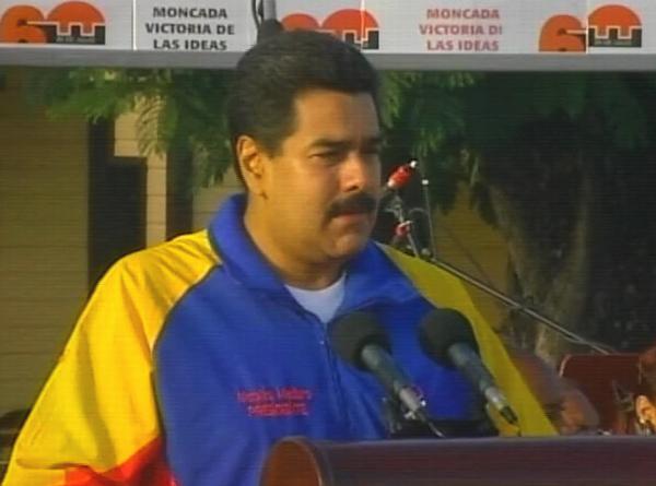 Nicolás Maduro: Las banderas de rebeldía del Moncada tienen vigencia absoluta (+ Audio)