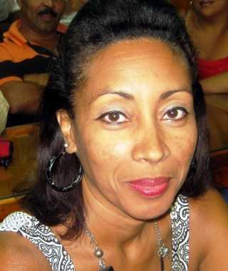 Niurka González, Secretaria Sindical de la Educación, Ciencia y Deporte en Santiago de Cuba. Foto: Carlos Sanabia