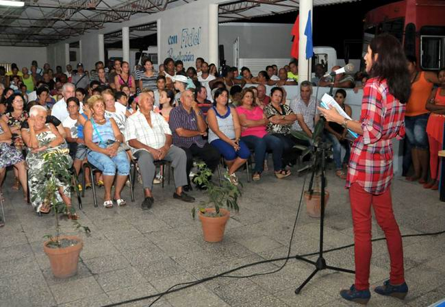 Cienfuegos reinició asambleas de nominación al Poder Popular