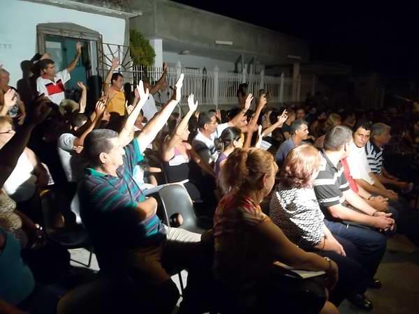 Listos los tuneros para la nominación de candidatos. Foto Juan Manuel  Olivares