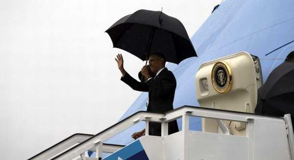 Presidente Barack Obama ya está en territorio cubano. Foto: Ismael Francisco