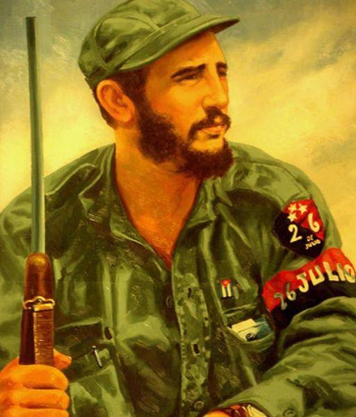 Fidel parte hacia la inmortalidad