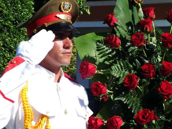 Rinden homenaje al General Flor Crombet en aniversario de su caída