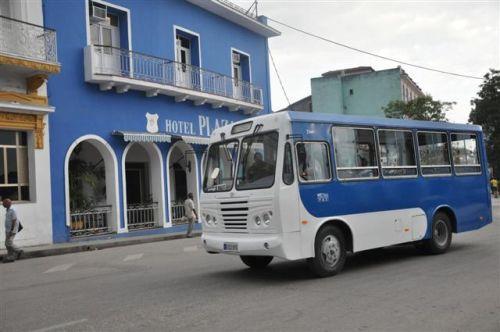 Exhibe Sancti Sp�ritus aumento en transportaci�n de pasajeros