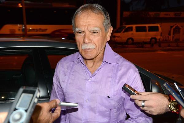 Oscar López visita otrora cuartel Carlos Manuel de Céspedes. Foto: ACN