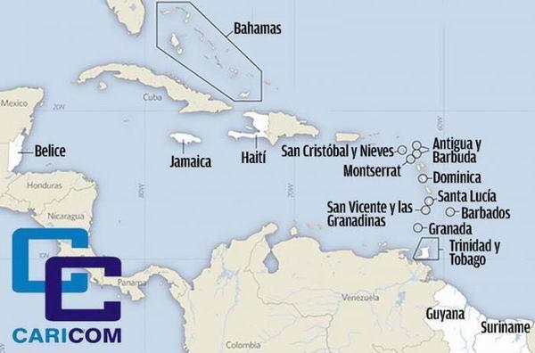 Países miembrosde Caricom