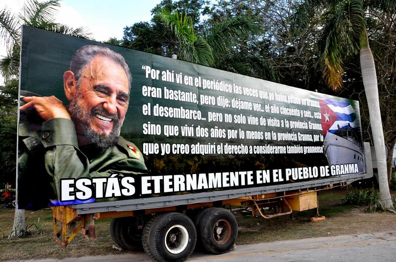 Granma recibirá este viernes la Caravana de tributo a Fidel