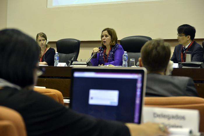Panel Ciberseguridad e Informatización, TICHabana2015. Foto: Abel Rojas Barallobre.