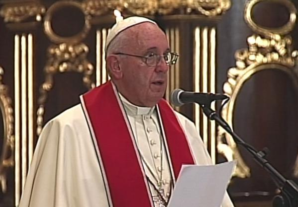 Papa Francisco reflexionó sobre la pobreza y y el bien común