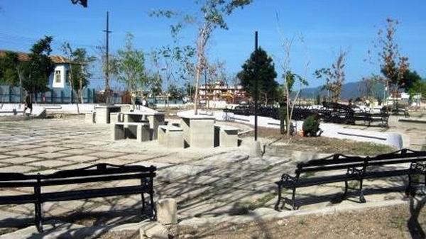En terminación trabajos de mantenimiento y modernización del Parque-Museo y Biblioteca Abel Santamaría, que el 26 de julio cumple 40 años de creado. Foto: Carlos Sanabia