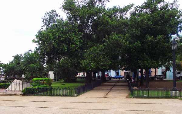 Parque Aracelio Iglesias ubicado en el municipio Habana Vieja, Cuba. Foto: Abel Rojas.
