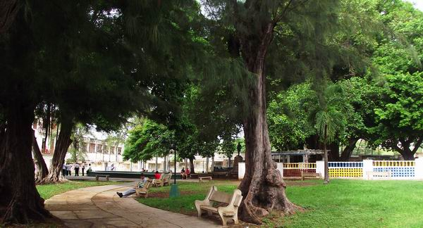 Parque Carlos Aguirre ubicado en el municipio Plaza de la Revolución, La Habana, Cuba. Foto: Abel Rojas.