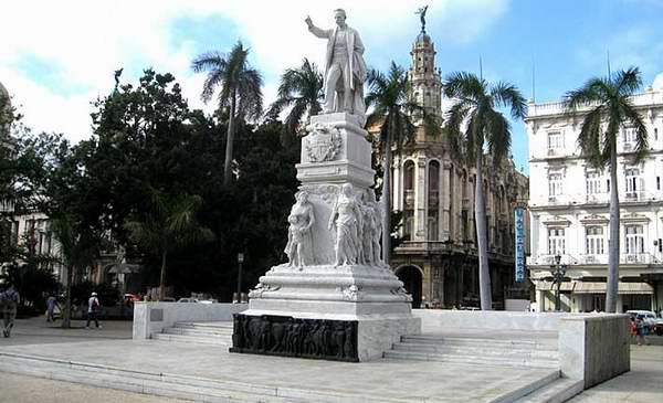 The Central Park Regarded as an Oasis in Havana