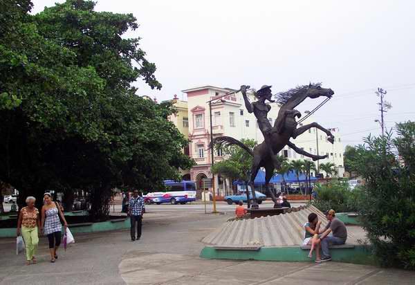 Parque El Quijote ubicado en el municipio Plaza de la Revolución, La Habana, Cuba. Foto: Abel Rojas.