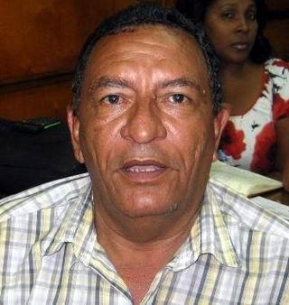 Pedro Ávila, Secretario Sindical de la Administración Pública. Foto: Carlos Sanabia
