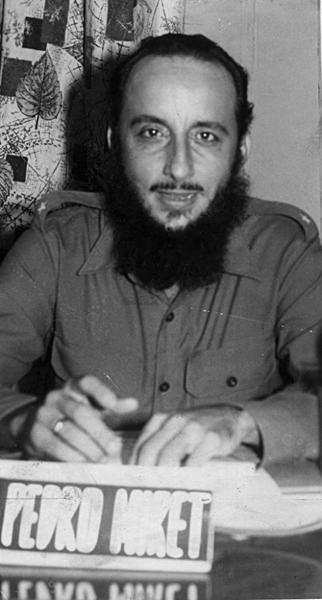 Pedro Miret, combatiente del Moncada e incondicional de la Revolución