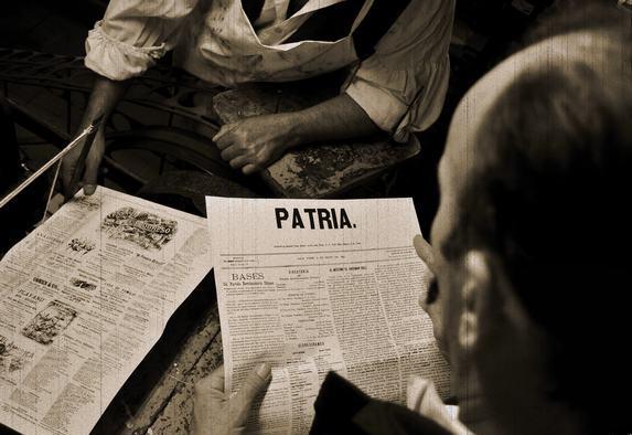 Periódico Patria para juntar y amar (+ Audio)