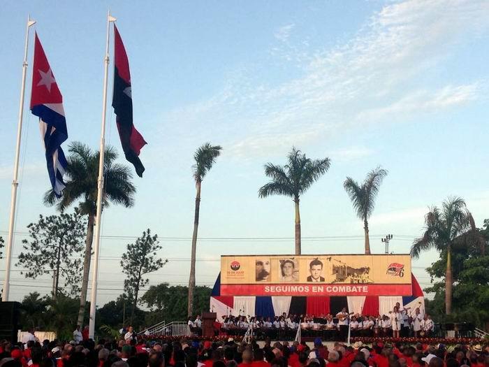 Pinar del Río tuvo su 26 de Julio una vez más. Foto Radio Guamá