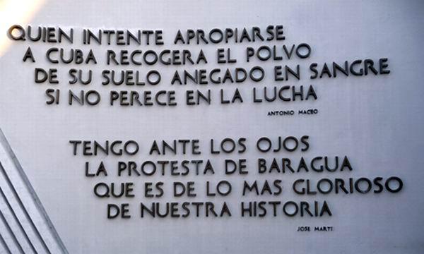 Ratificará Cuba en Baraguá su arraigado sentimiento patriótico