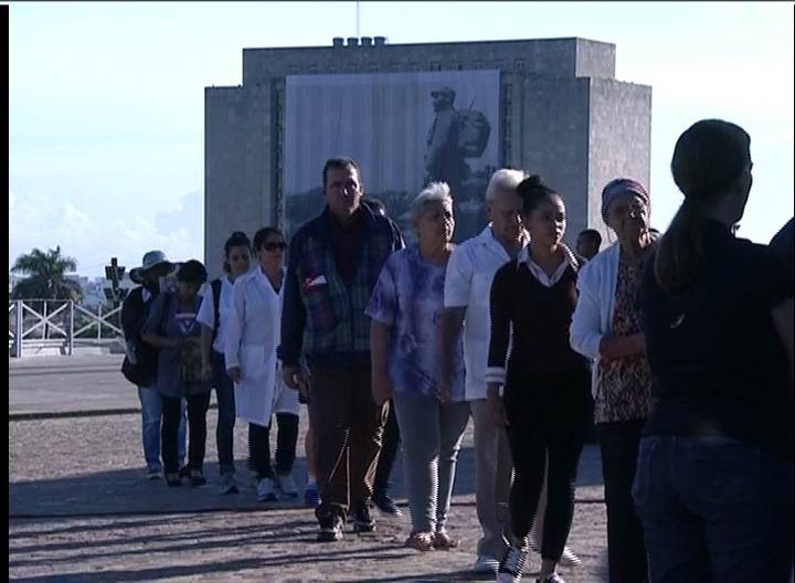 Homenaje póstumo al Comandante en Jefe Fidel Castro