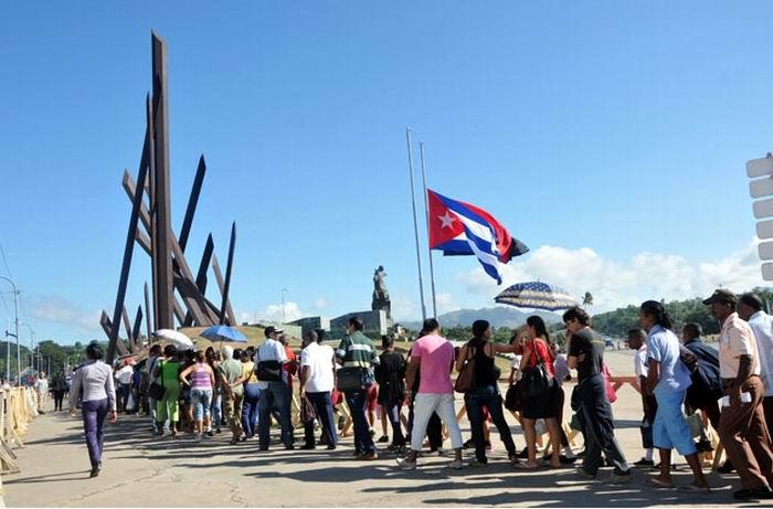 Despedirán más de 300 000 santiagueros al Comandante en Jefe