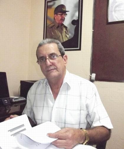 Presidente de la Comisión Electoral en Camagüey, Mariano Basulto. Foto: Miozotis Fabelo