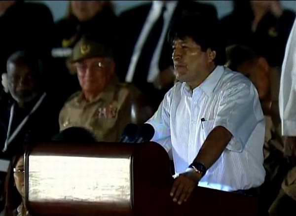 Evo Morales: Fidel fue un verdadero padre de los excluidos