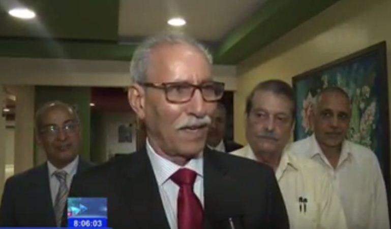 Llega a Cuba presidente de República Saharaui en visita oficial